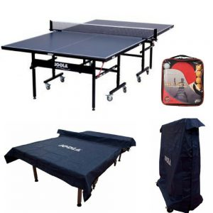JOOLA-Inside-15-Table-Tennis-Table-with-Net-Set-(15mm-Thick),-Dual-Function-Indoor-Table-Tennis-Table-Cover-&-Hit-Set,-Great-Family,-Friend-Activity-Games,-Best-Table-Tennis-Bundle