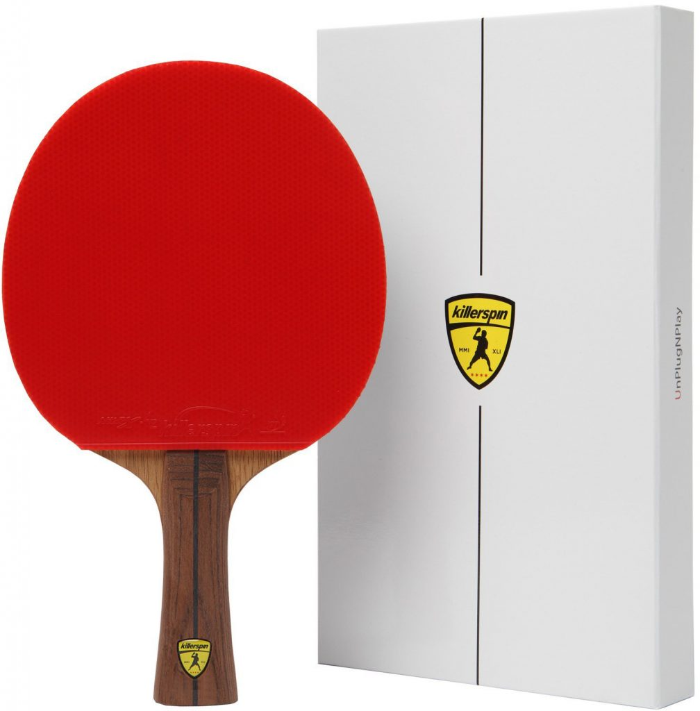 Killerspin-JET800-SPEED-N1-Table-Tennis-Paddle---Ultimate-Professional-Ping-Pong-Paddle-with-Carbon-Layers-Pared-with-Specially-Designed-Memory-Book