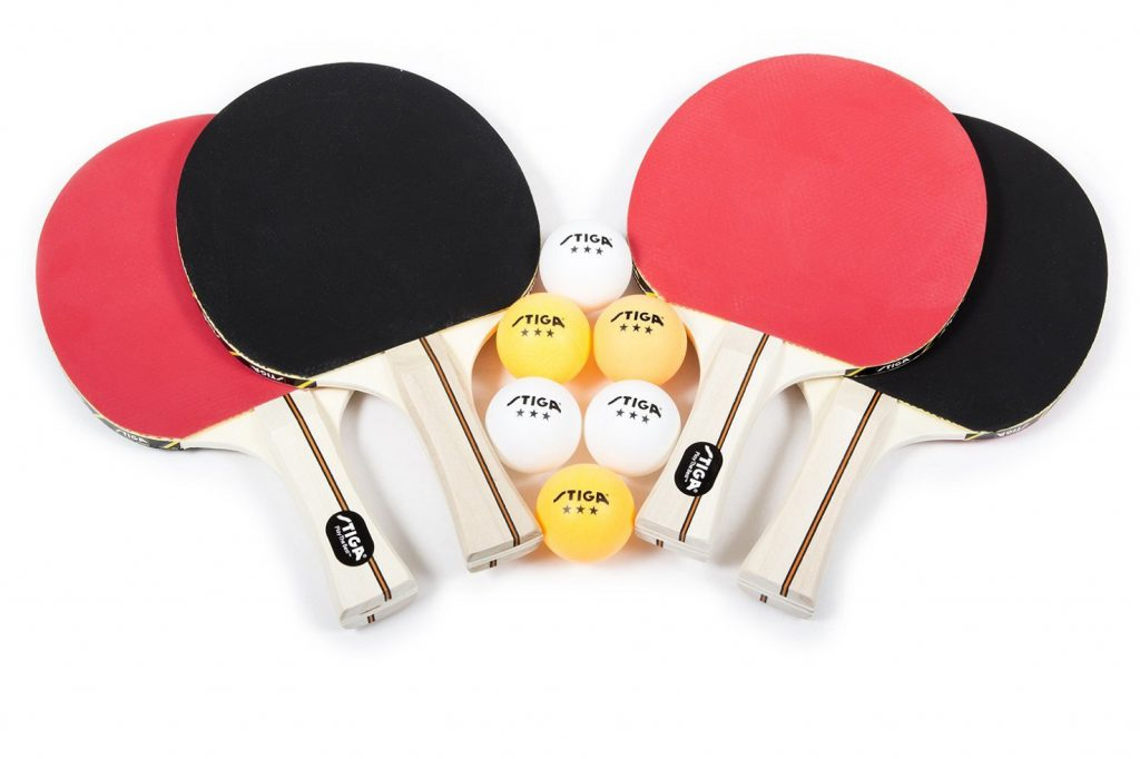 STIGA-Performance-4-Player-Table-Tennis-Racket-Set